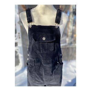 Y2K Maternity Corduroy Overalls Jumpsuit Flare